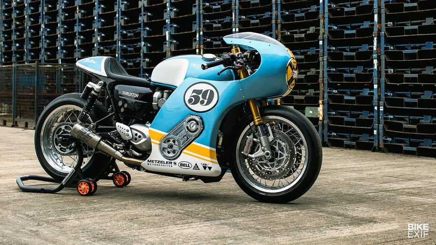 This Supercharged Triumph Thruxton Is Not So Mellow