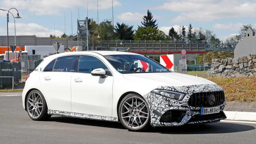 2020 Mercedes-AMG A45 Spy Photos
