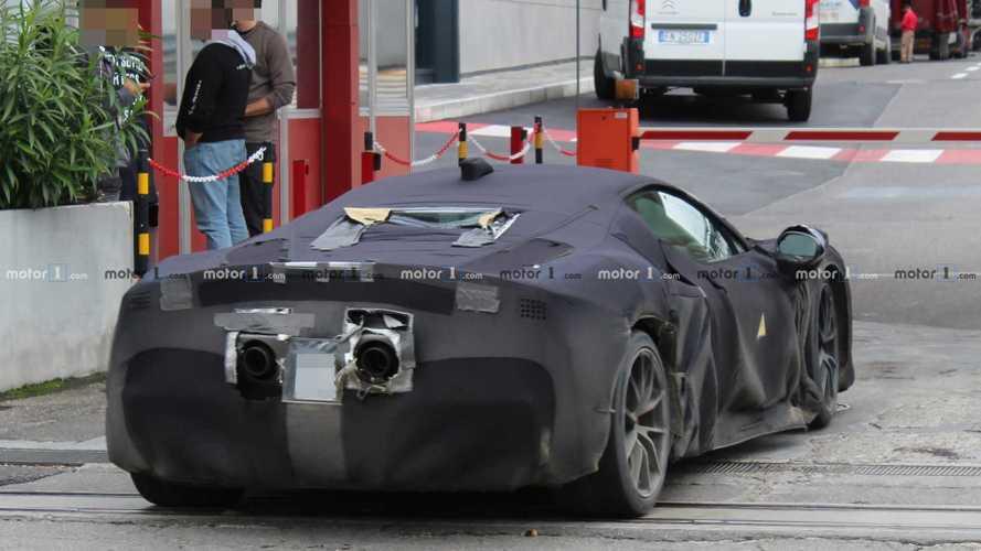 700 chevaux pour la nouvelle Ferrari à moteur V6 hybride ?