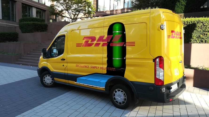 DHL And StreetScooter To Deploy 100 Hydrogen Fuel Cell Vans