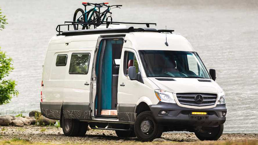 Sprinter motorhome by Outside Van packs unique, minimalist layout