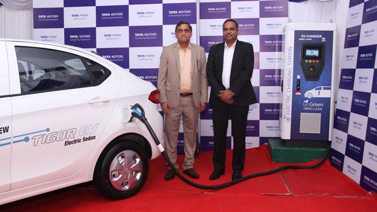 Tata Tigor EV fast charging