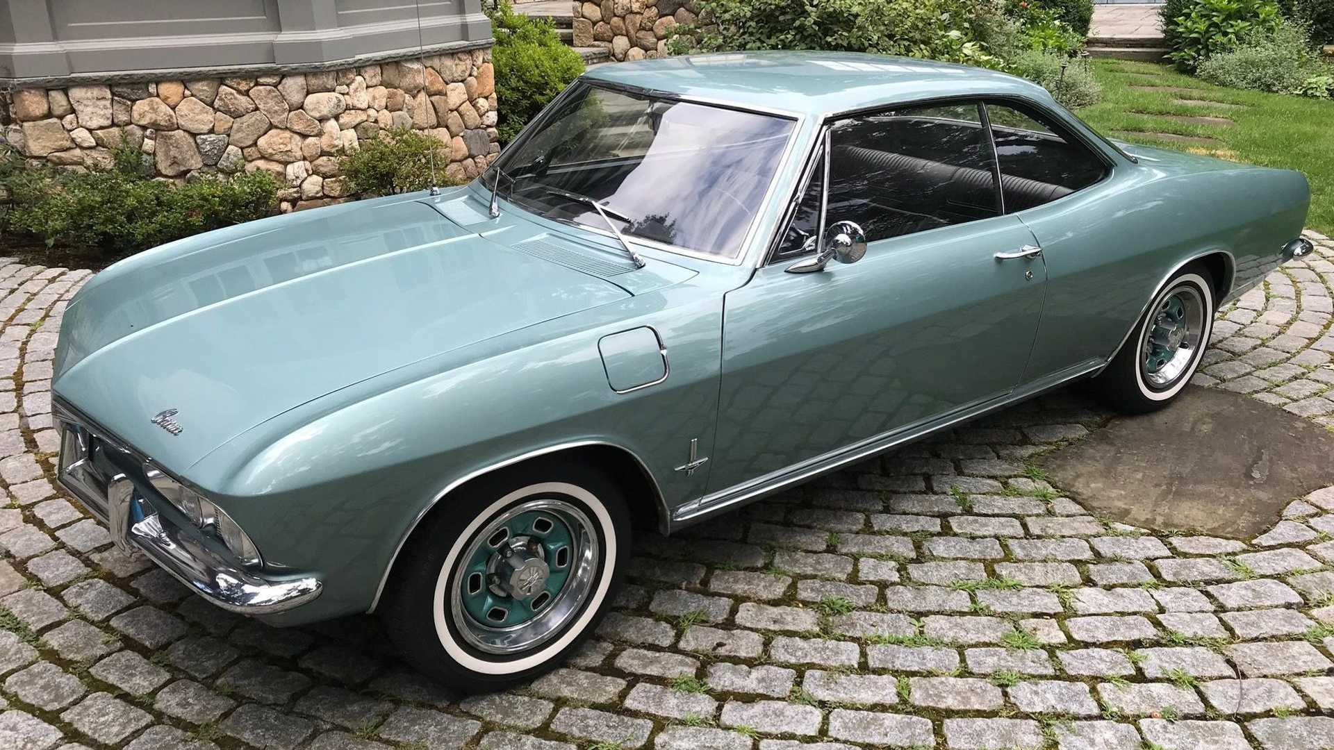 """[""""Cool At Any Speed: 1965 Chevrolet Corvair""""]"""