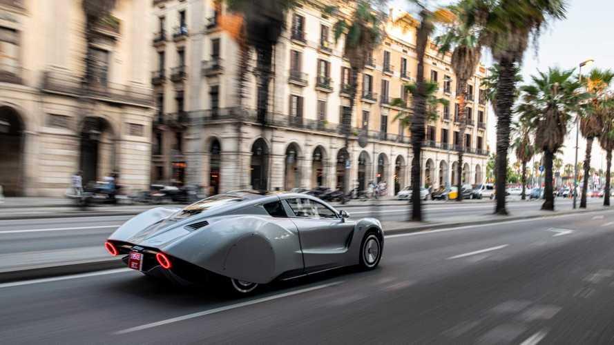 El Hispano Suiza Carmen se pasea por las calles de Barcelona