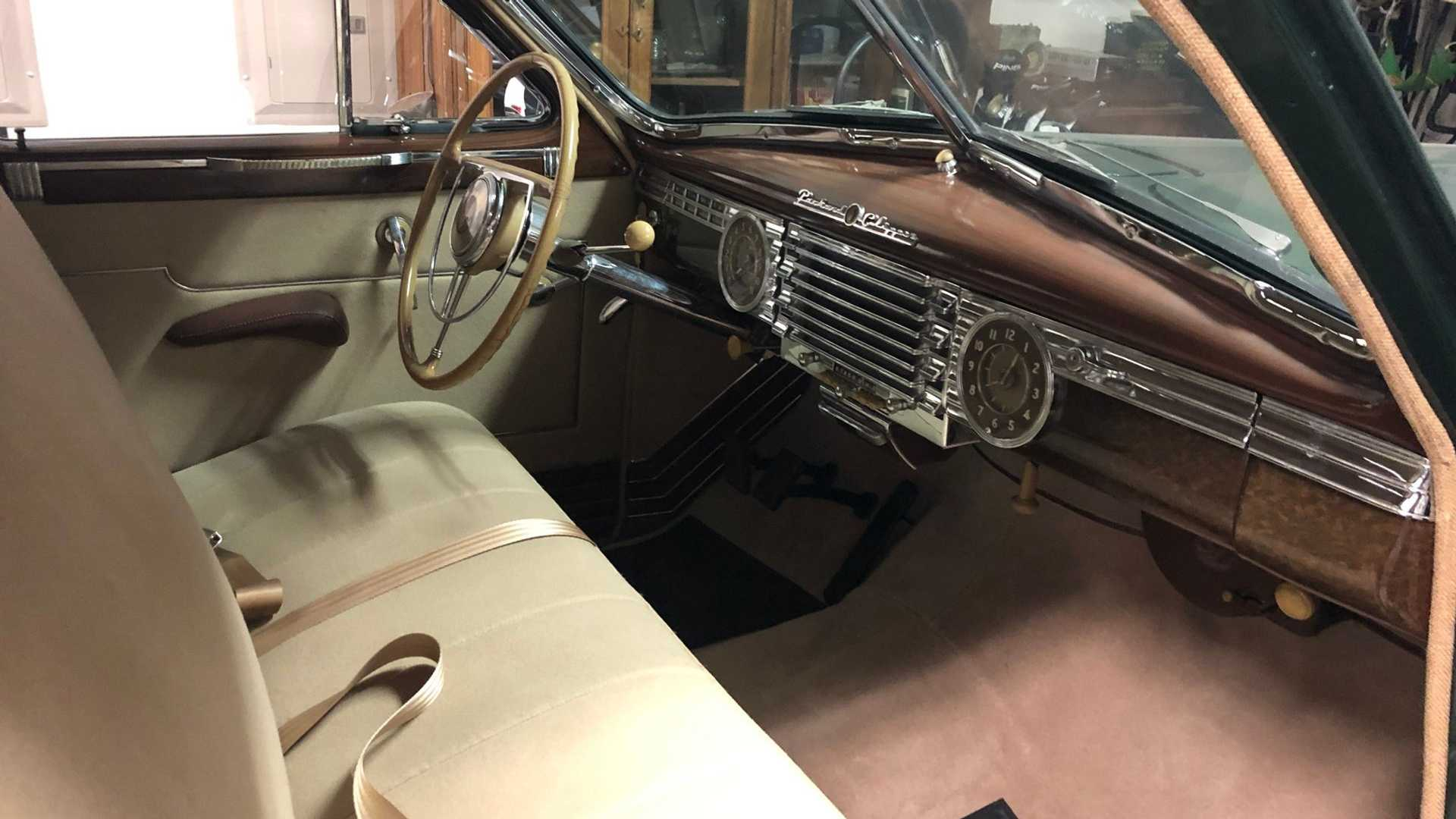 "[""1947 Packard Custom Super Clipper Defines Elegance""]"
