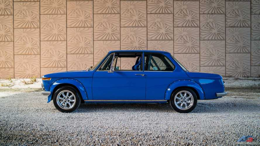 Hit The Track In This 1972 BMW 2002