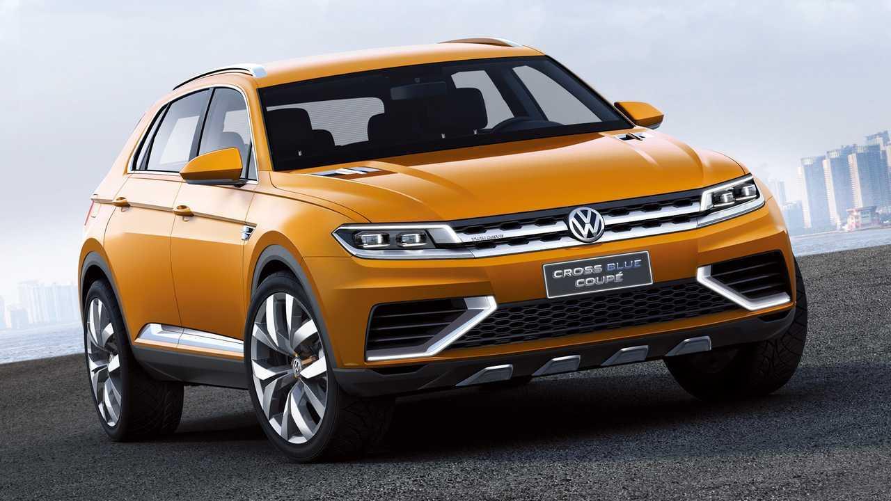 2013 VW CrossBlue Coupe koncepció