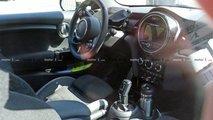 Mini Cooper JCW GP interior spy photos