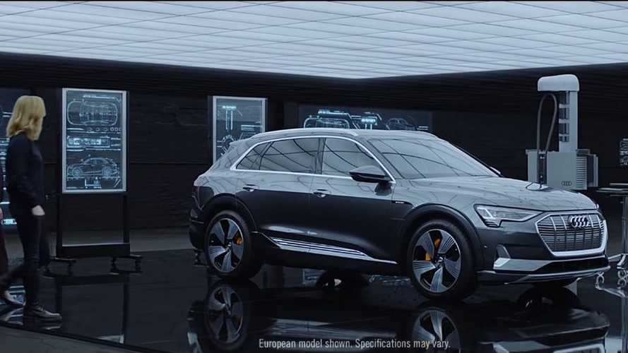 Audi e-tron protagonista in uno spot di Avengers: Endgame