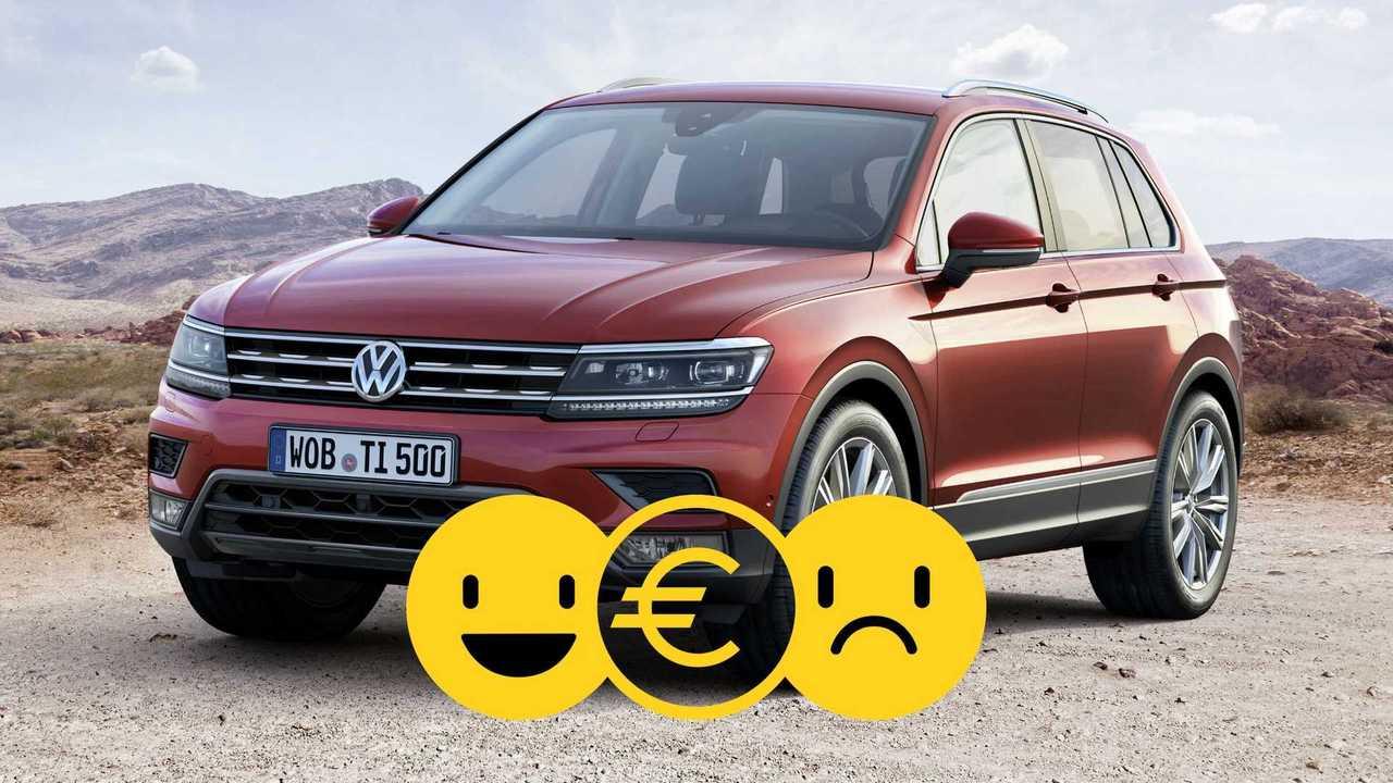 Promozione Volkswagen Tiguan aprile