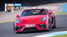 porsche 718 cayman gt4 prova video