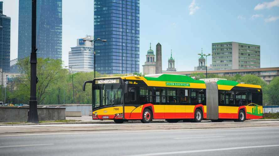 Solaris Wins Biggest Electric Bus Contract In Europe For 130 Vehicles