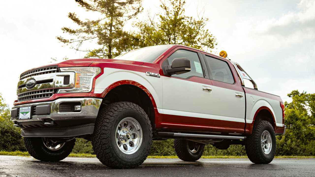 Ford F-150 Embraces The 1980s With Dealer-Installed Retro ...