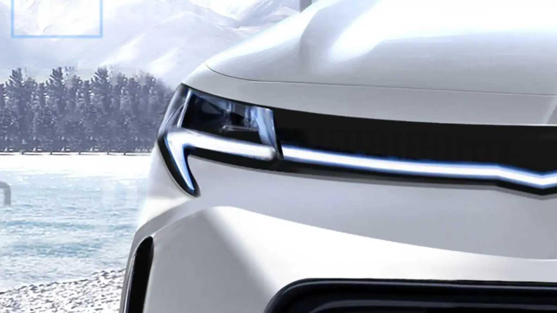 Chevrolet Bolt EUV - Projeção