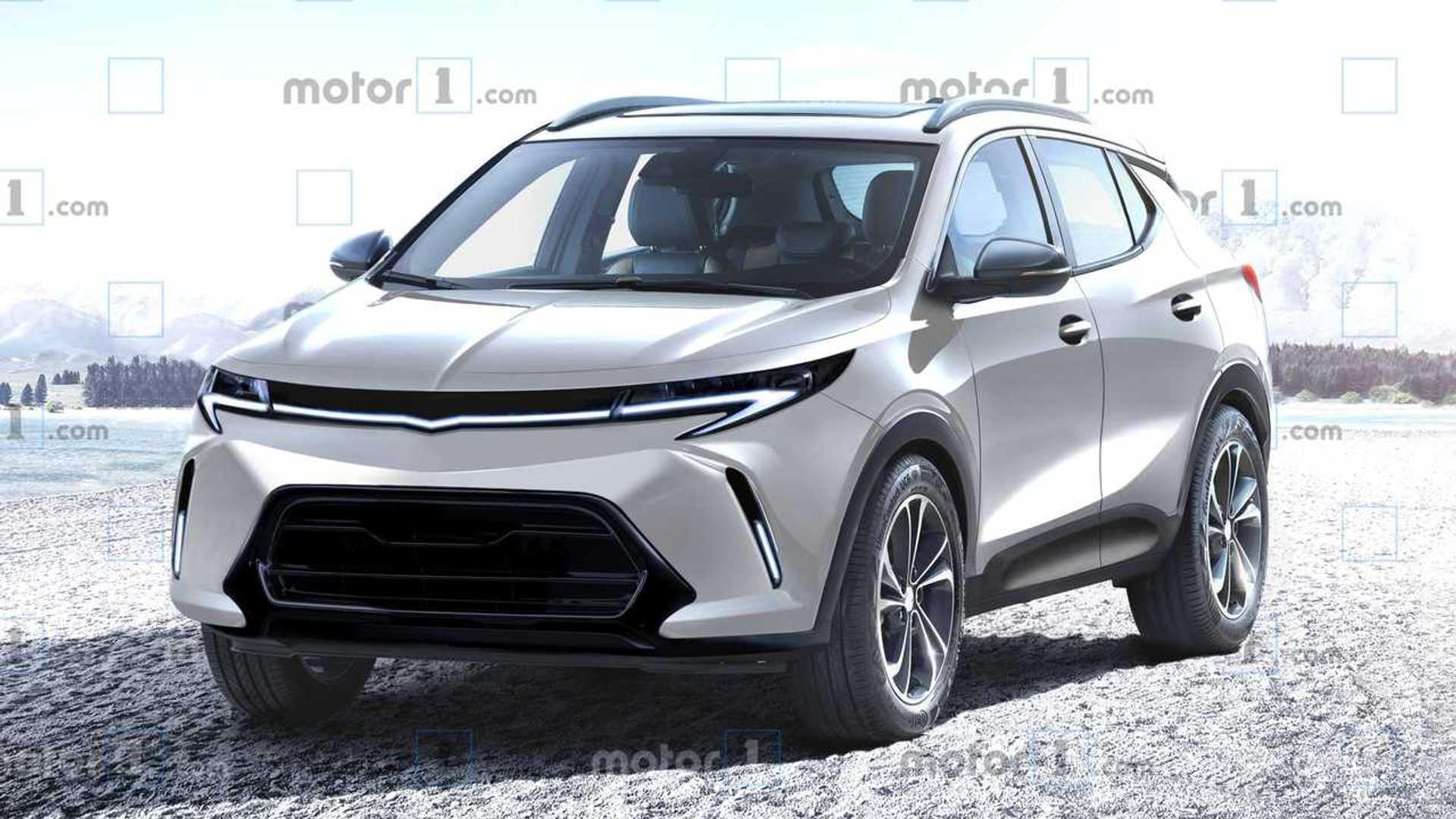 Projeção: Chevrolet trabalha em SUV elétrico baseado no Bolt