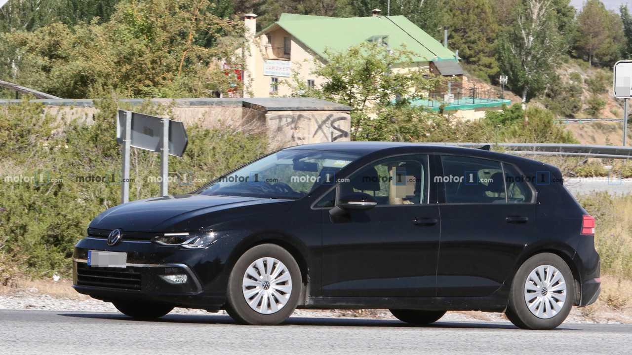 Volkswagen Golf photo espion