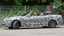BMW 4er Cabriolet (2020) komplett offen erwischt