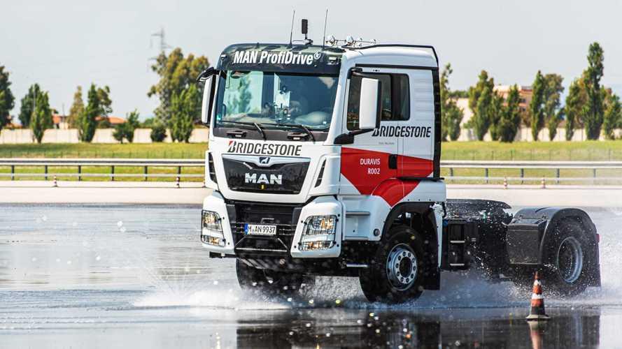 Bridgestone Truck World al campo prove di Aprilia