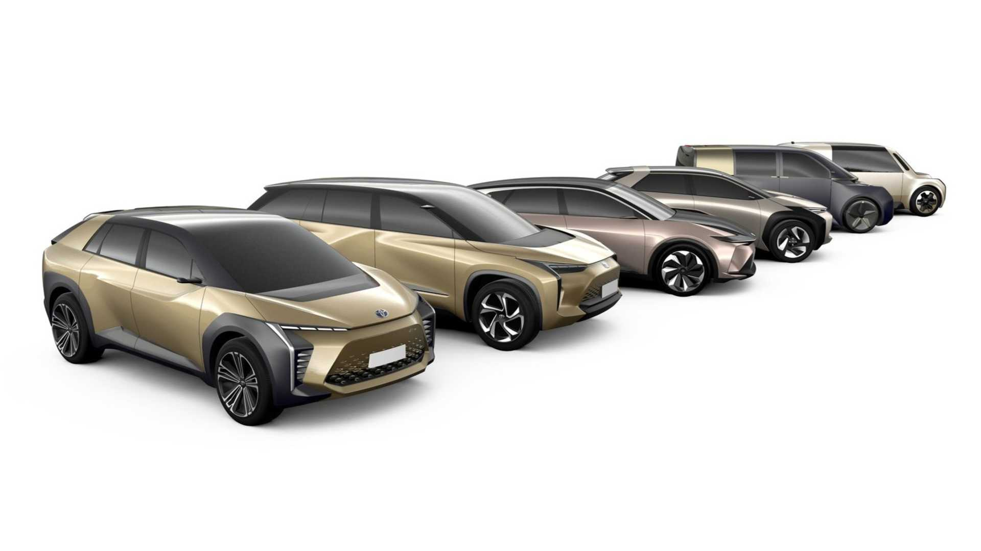 Toyota to sell 500,000 EVs in 2025, only 10,000 in 2020