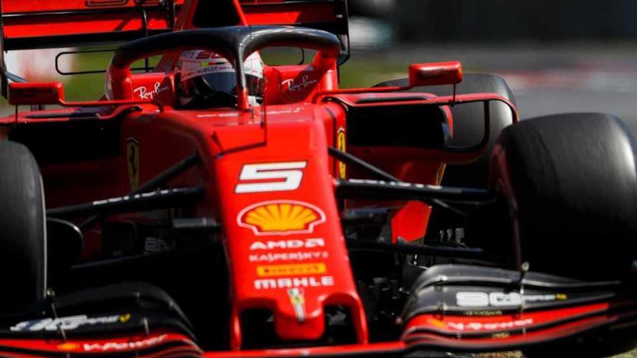 Sebastian Vettel at Canadian GP 2019
