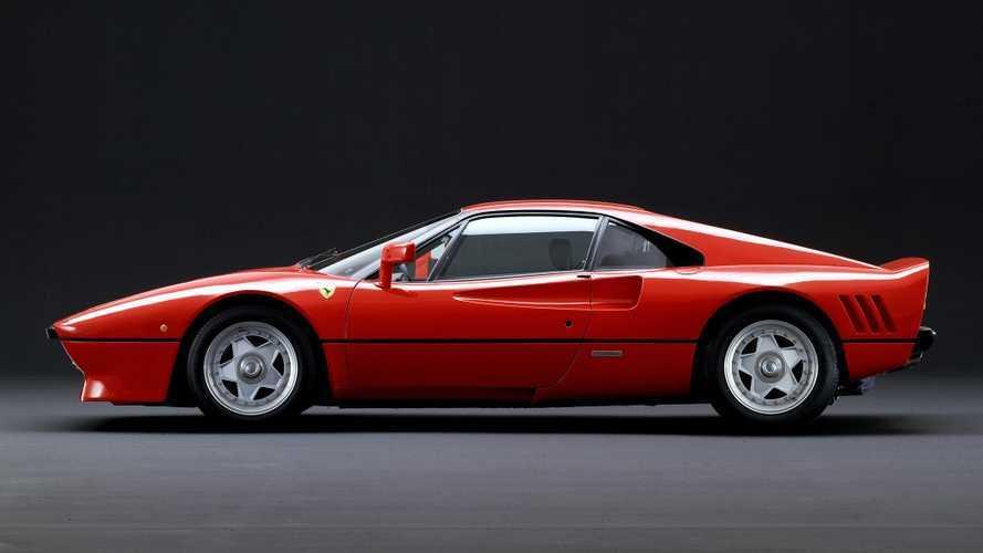 Klasik bir Ferrari modeli olan 288 GTO, test sürüşünde çalınmış