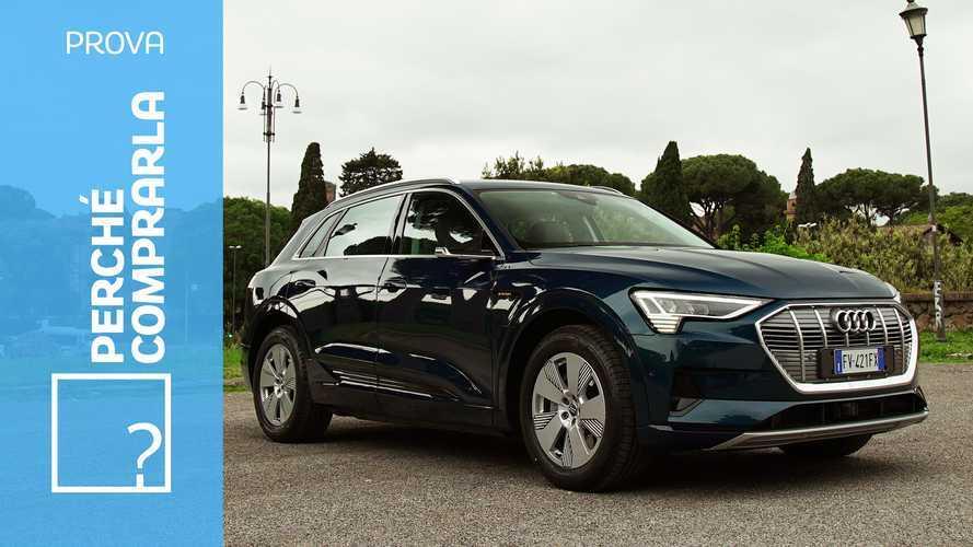Audi e-tron, perché comprarla… e perché no