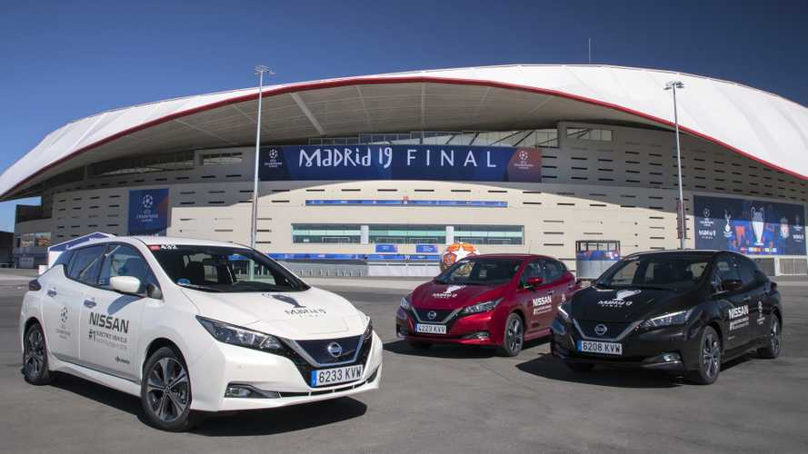 UEFA Champions League 2019: Nissan Leaf é o carro da final