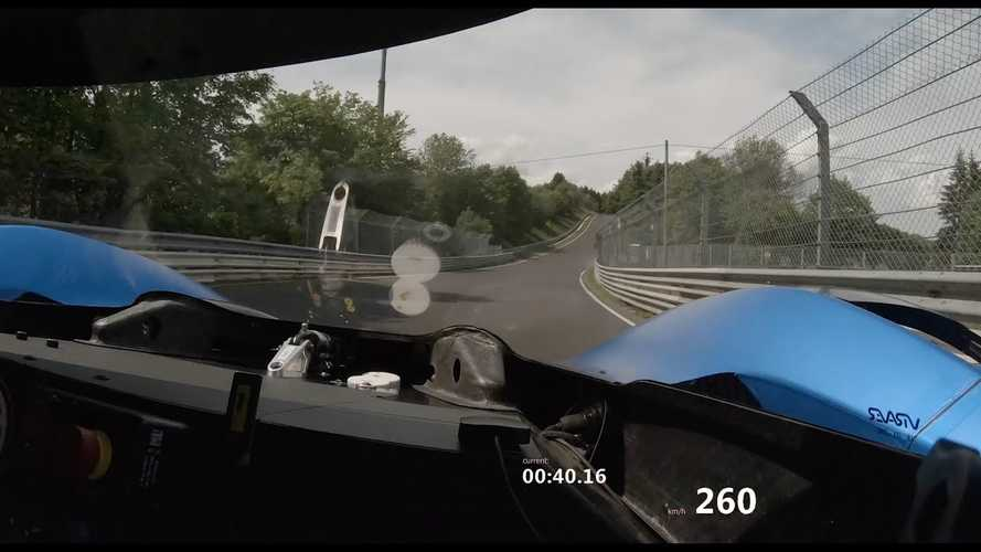 Volkswagen I.D. R Record-Breaking Run On The Nordschleife: Video