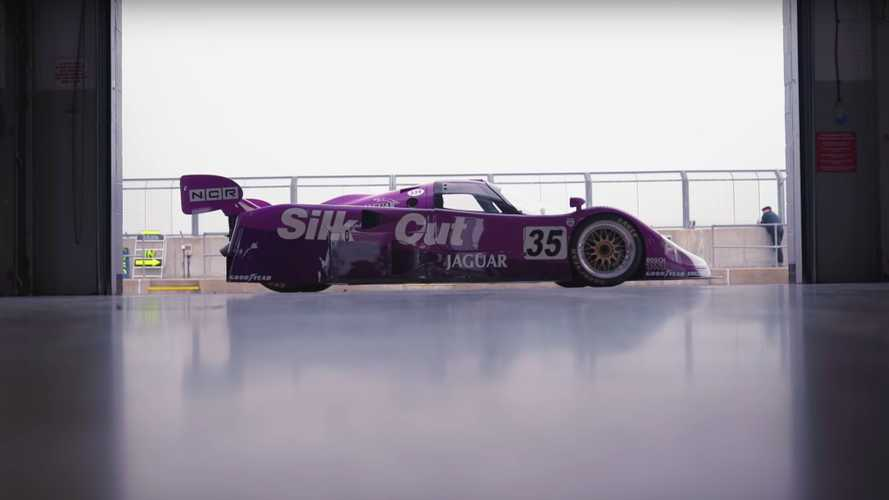 Martin Brundle Reunited With The Legendary Jaguar XJR-12