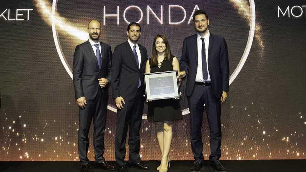 Honda Motosiklet Türkiye Ödül