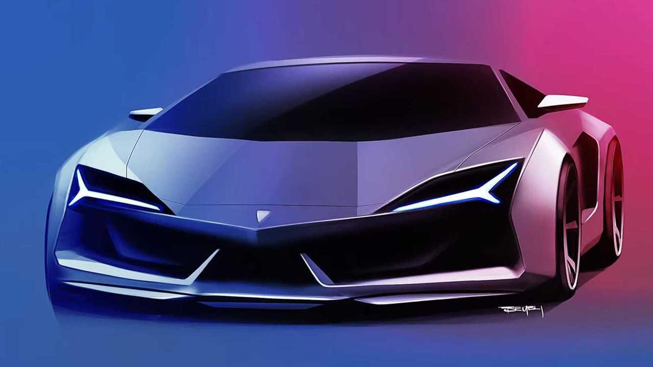 Új Lamborghini Aventador renderelés