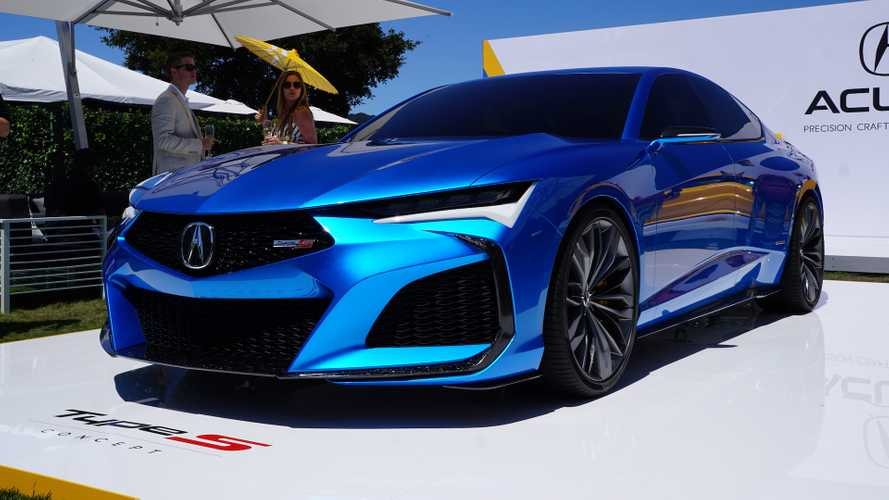 Usa News Live >> Acura Type S Concept Live At Pebble Beach | Motor1.com Photos