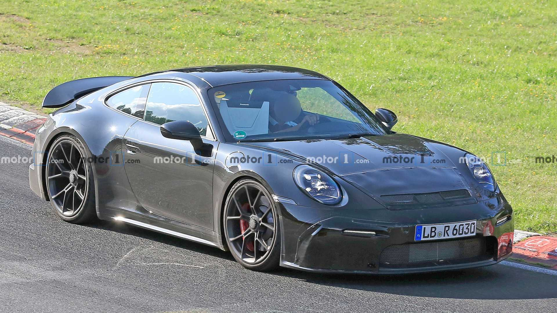 Porsche 911 Gt3 Touring Package Spied Showing New Details