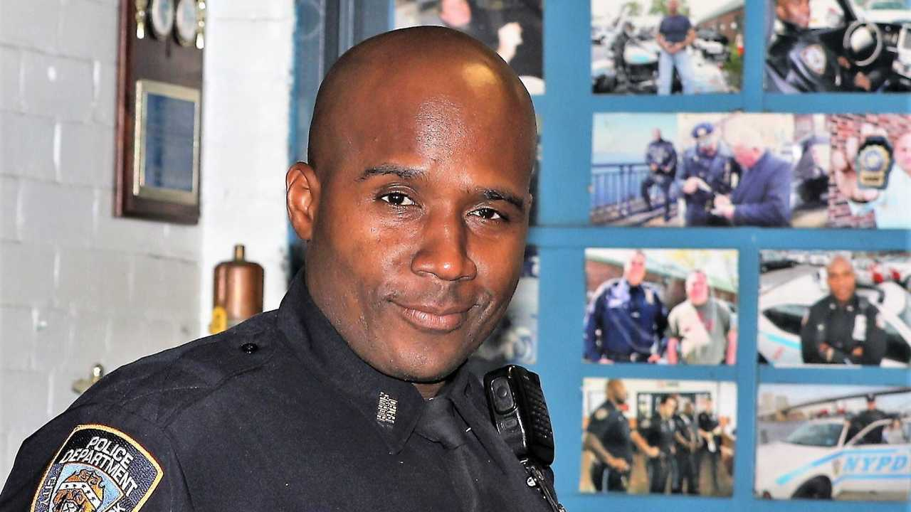 NYPD Officer Marc St. Arromand