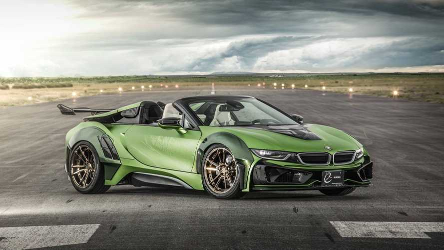 BMW i8 Roadster E.N. ARMY Edition - Futuriste et discutable