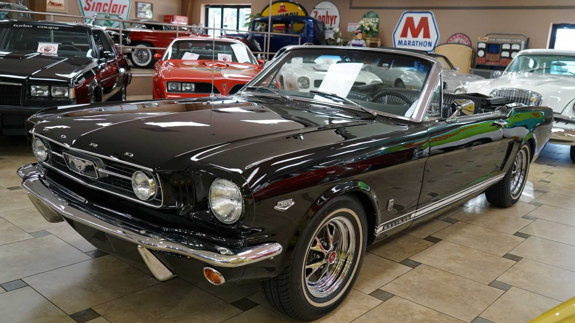 """[""""1966 Ford Mustang Convertible Is The Perfect Summer Toy""""]"""