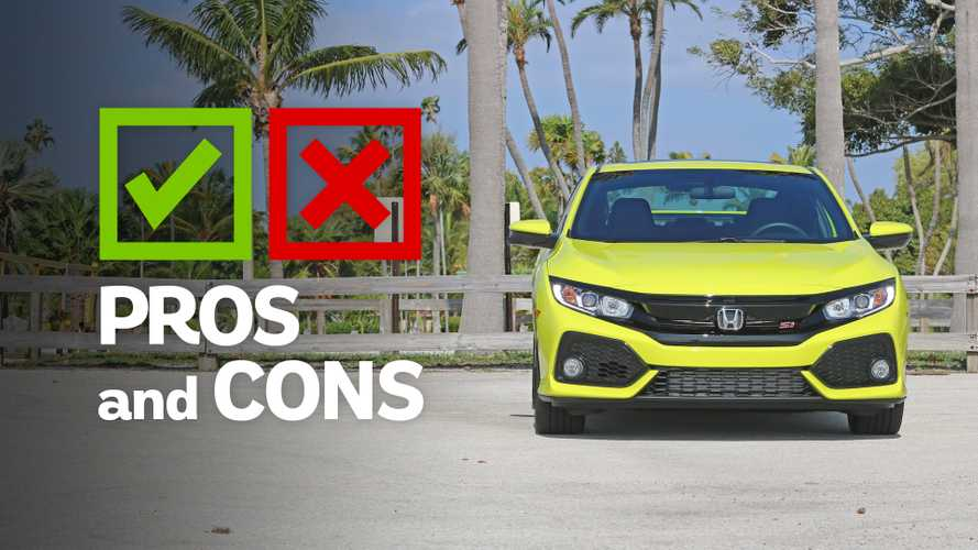 2019 Honda Civic Si Coupe: Pros And Cons