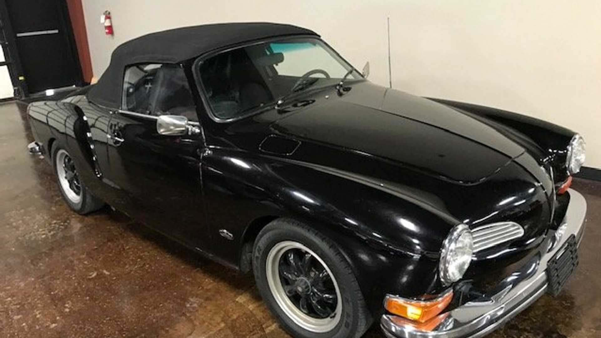 Enjoy Summer Cruising In This 1973 Volkswagen Karmann Ghia Convertible