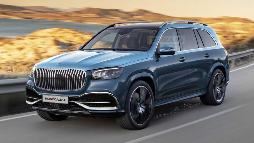 Рендер Mercedes-Maybach GLS