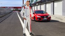 Jenson Button Honda Civic Type R Bathurst lap record