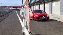 Jenson Button Honda Civic Type R Bathurst lap record