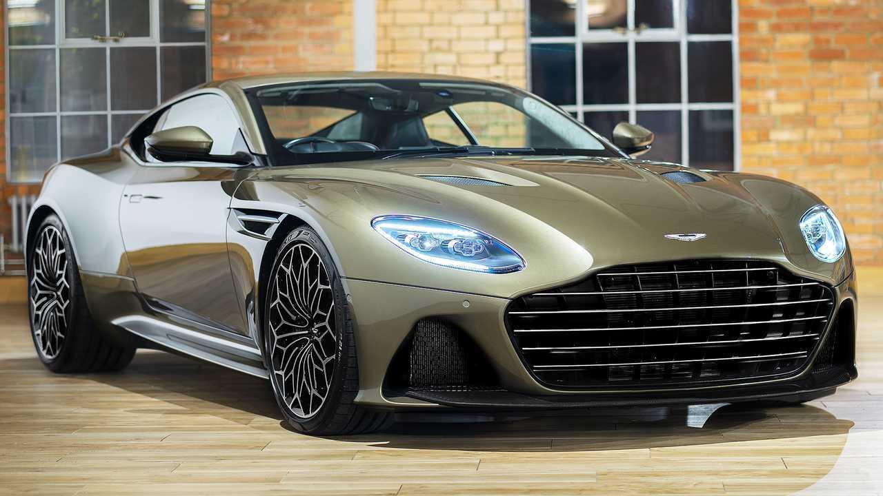 Aston Martin DBS Superleggera Im Geheimdienst Ihrer Majestät