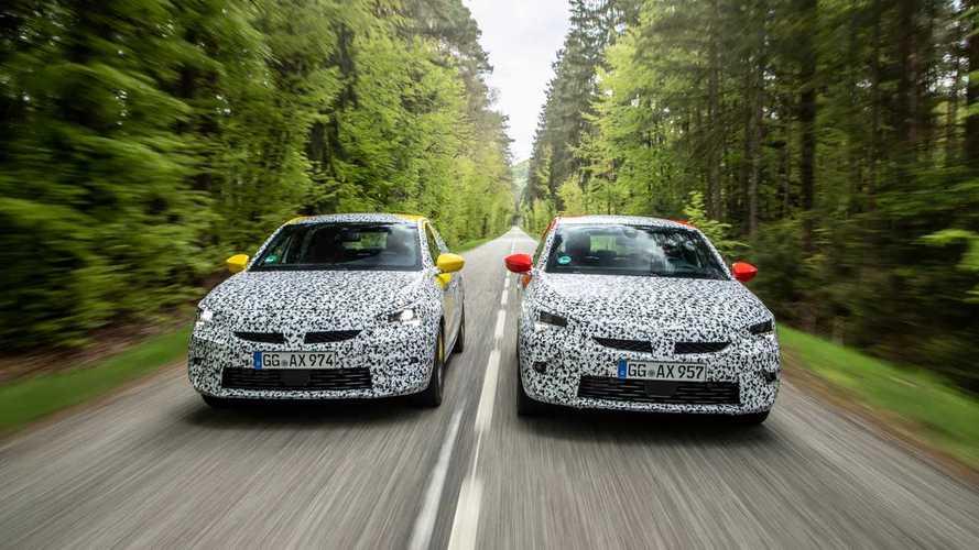 2020 Opel Corsa prototype ride
