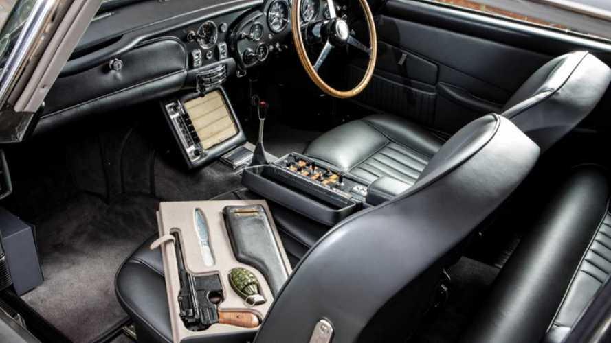 El Aston Martin DB5 de James Bond en Operación Trueno
