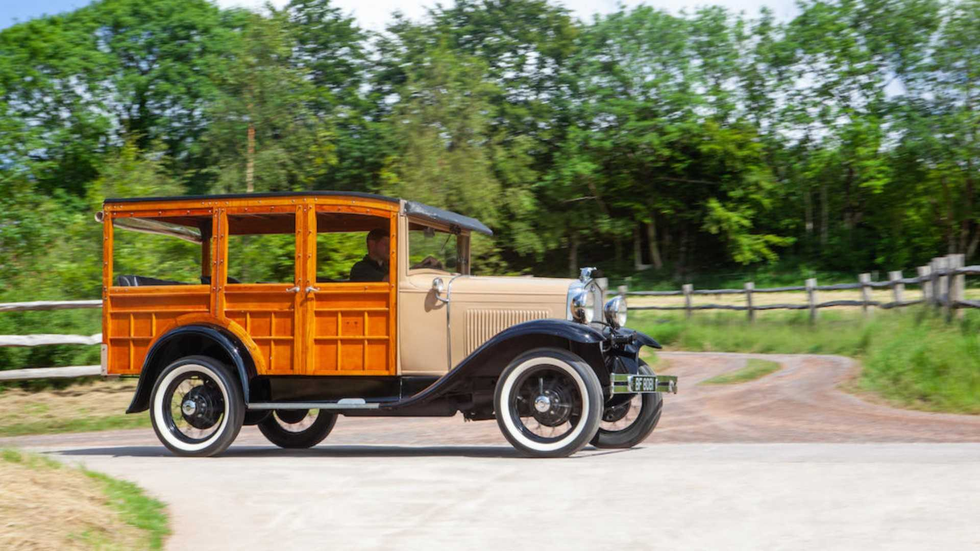 "[""Bonhams 1930 Ford Model A Station Wagon""]"