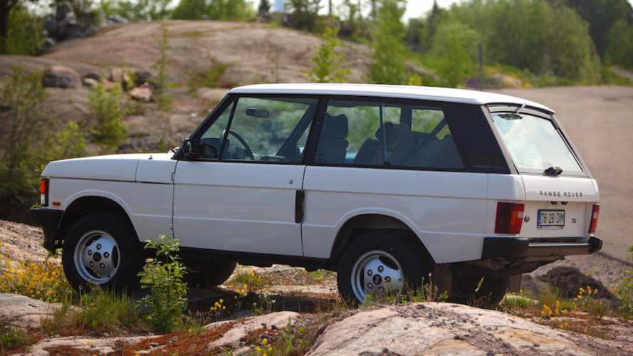 Last Ever Two-Door Range Rover Classic Heading To Auction