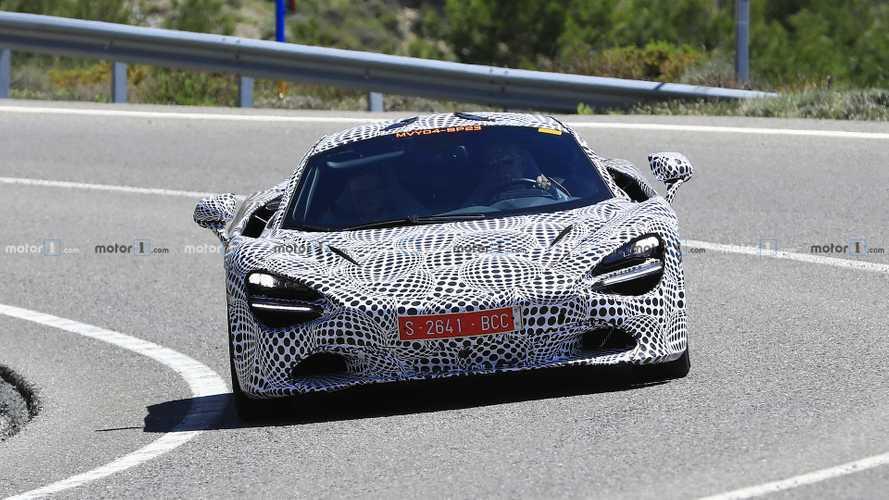 McLaren 720S hybrid test mule spy photos