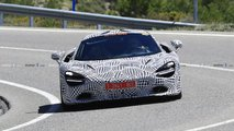 McLaren 720S hybrid test mule spy photos