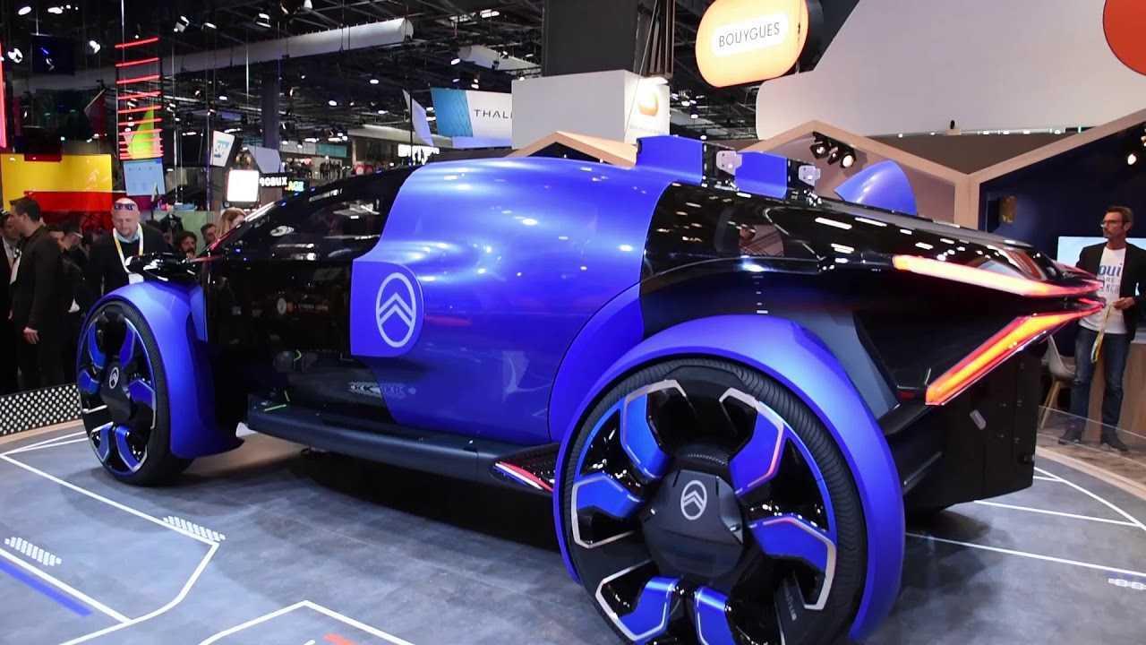 Tesla Home Battery >> Citroën 19_19 Concept At The VivaTech In Paris: Videos