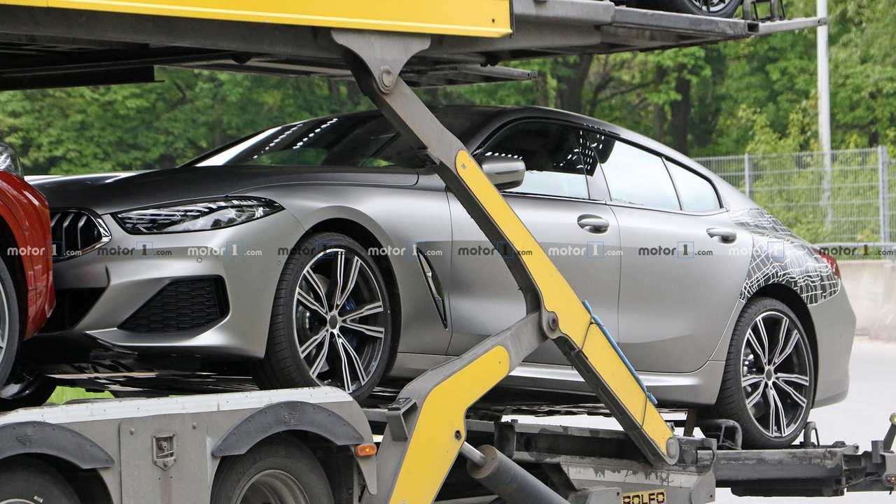 BMW Serie 8 Gran Coupé 2019, fotos espía sin camuflaje